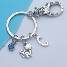 cute, Key Chain, cutefoxpartyfavor, silverfoxjewelry