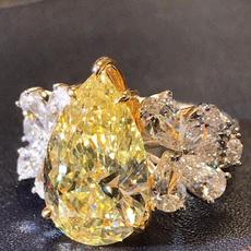 DIAMOND, wedding ring, 925 silver rings, Engagement Ring
