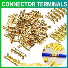 Brass, brassterminalconnector, quickwirecrimpconnector, crimpterminal
