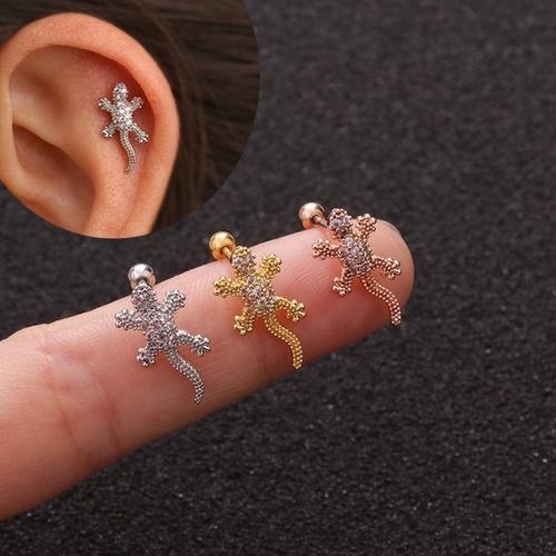 screw, reptile, Animal, Earring