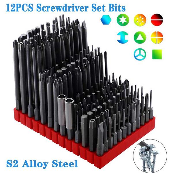 Steel, s2alloysteel, Screwdriver Bit Sets, Tool