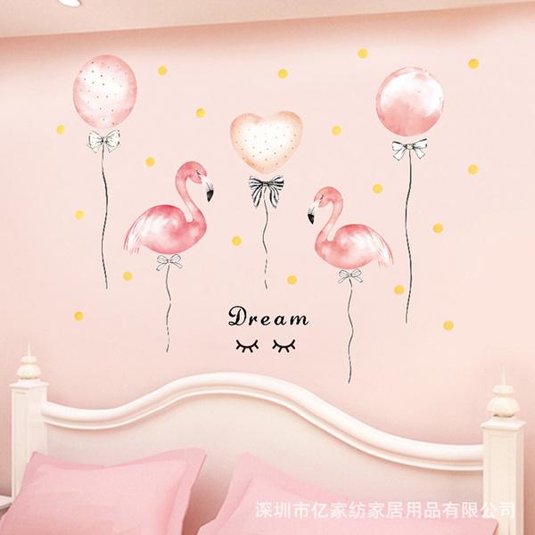 flamingo, walldecoration, walldecalsampsticker, Wall Decal
