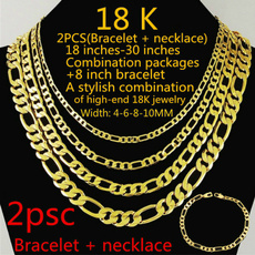 thickchain, Heavy, Chain Necklace, 18k gold