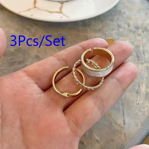 Vintage, wedding ring, Geometric, fashion ring