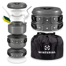 servingladle, kettle, portable, potlid