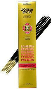 goneshincense, raspberry, incensestick, incense
