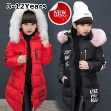 cute, downovercoat, fur, cortavento