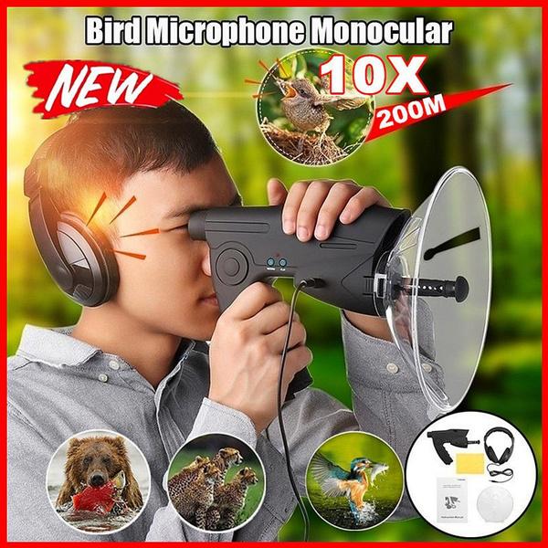 soundamplifier, Spy, telescopeorbinocularsforspying, watchkoreancagebird