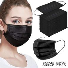 blackmouthmask, surgicalfacemask, mouthmask, Elastic
