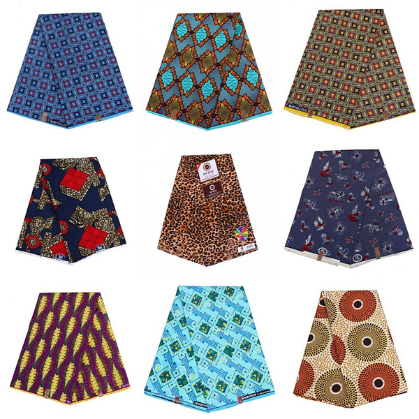 africanprint, Polyester, Sewing, Fabric
