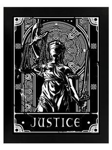 Justice, partydecor, homewalldecor, Wooden