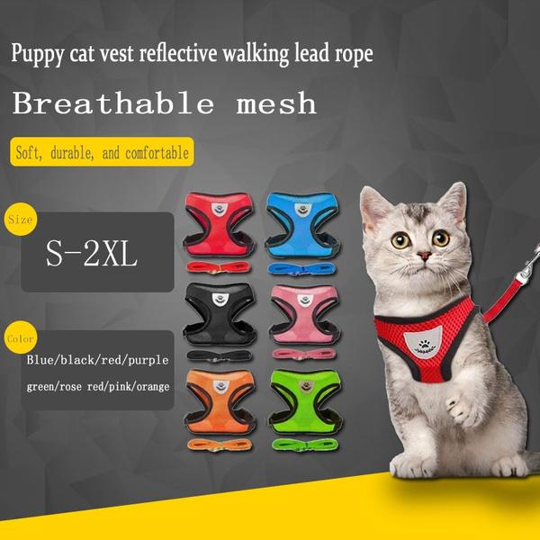 Vest, Nylon, Breathable, petvest