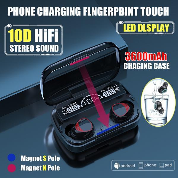 case, Headset, Bluetooth, Bass