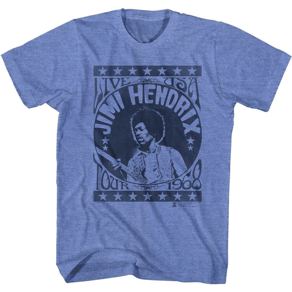 hendrix, 1968, Shirt, Posters