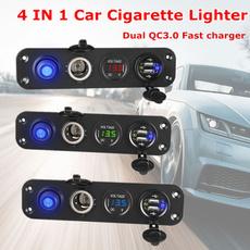 charger, usb, carvoltage, Lighter
