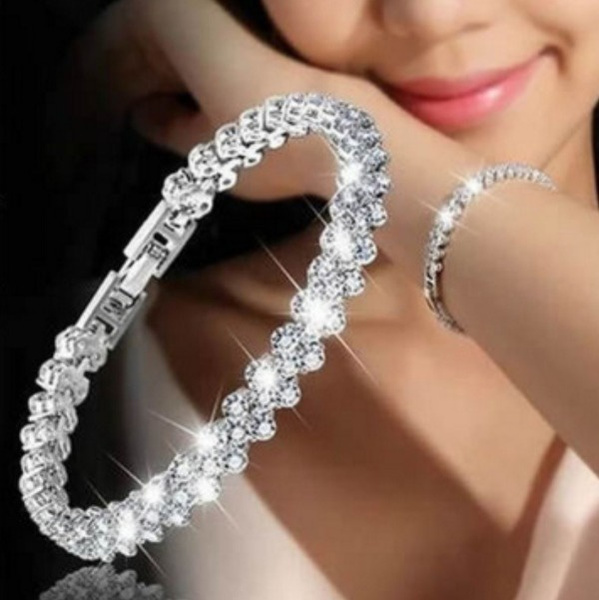 DIAMOND, Jewelry, Simple, Bracelet