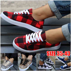 Sneakers, Fashion, Canvas, plaidshoe