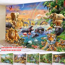 King, Wall Art, walldecorationsforhome, landscapestapestry