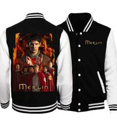 jackethoodie, merlin, Baseball Uniforms, baseballjacketcoat