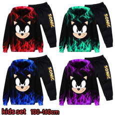 sonic, Sport, kids clothes, Sleeve