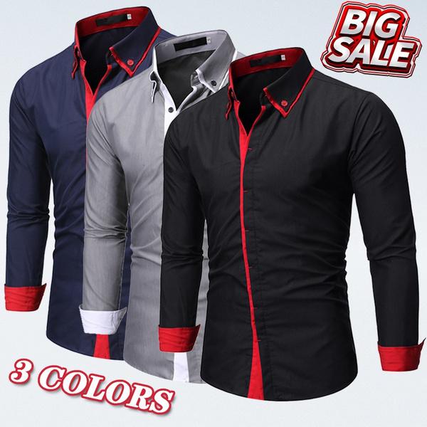 buttonupshirt, Slim Fit, Shirt, Sleeve