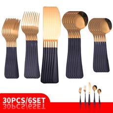 Forks, Steel, Fashion, Restaurant