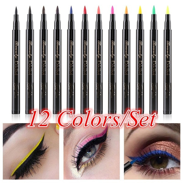 pencil, eye, Beauty, Colorful