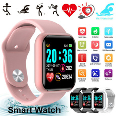 Heart, sports watch, Fashion, led