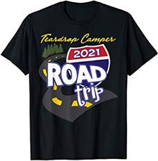 Funny T Shirt, summerfashiontshirt, roundnecktop, camper