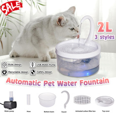 petwaterfountain, water, led, Electric