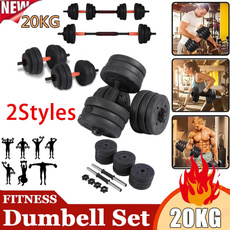 gymdumbbell, adjustabledumbbellbarbell, Equipment, 20kg