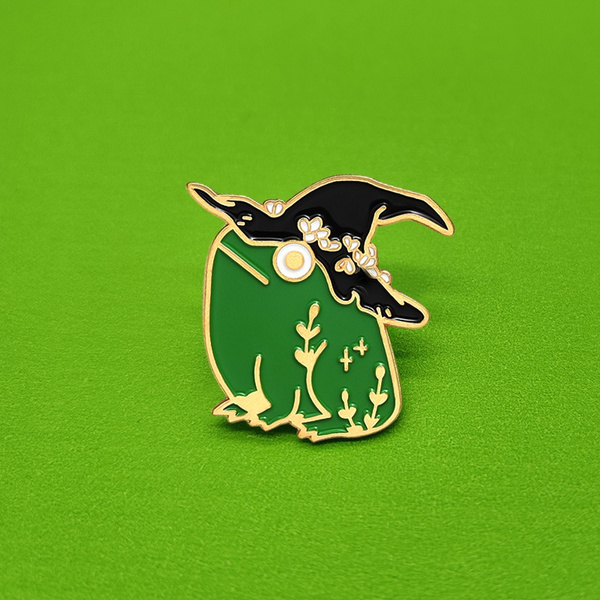 frogpin, bagclothespin, Fashion, witchpin