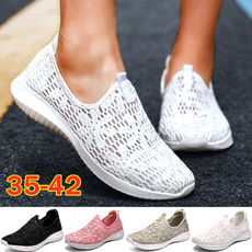 Summer, Sneakers, Plus Size, Light Weight
