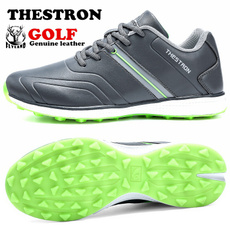 casual shoes, Golf, Waterproof, leather