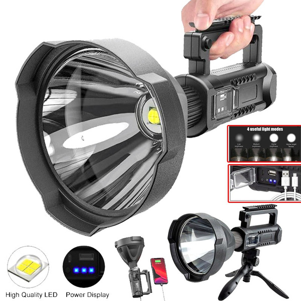 Outdoor, led, usbrechargeablesearchlight, Hiking