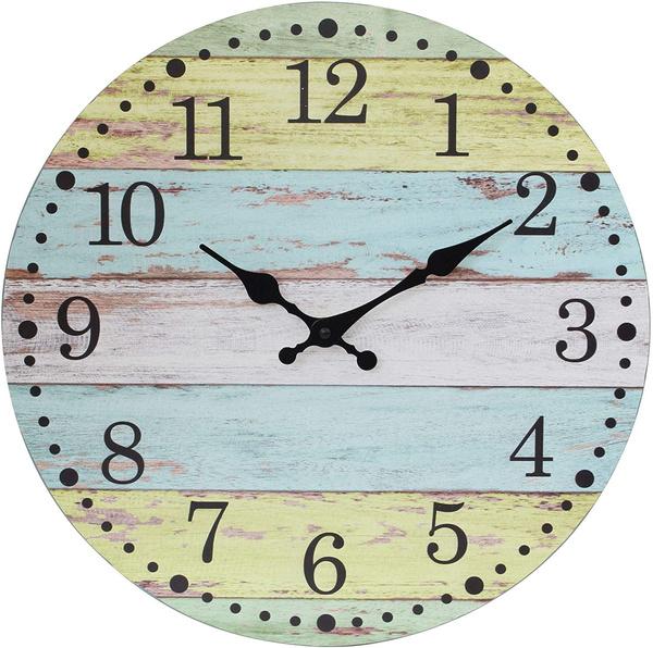 Battery, Vintage, worn, Clock