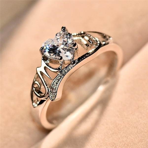 Heart, Love, 925 silver rings, Gifts