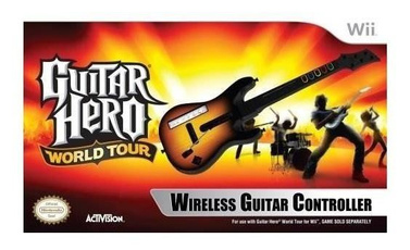 Guitars, Stand, Wii