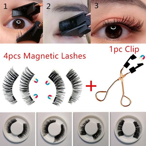 lashescurlingclip, 3deyelashe, magneticeyelashesset, women eyelash curler