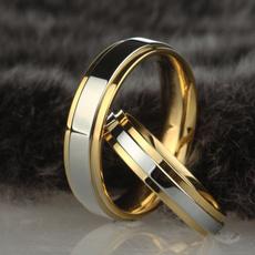 Couple Rings, Steel, Fashion, wedding ring