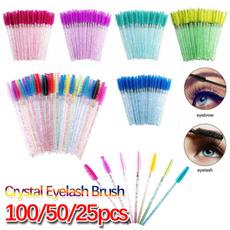 Mini, wandscurlerbrushset, shinymakeupbrush, eyebrowspooler