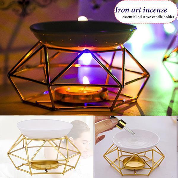 Candleholders, Home & Living, Ceramic, burner