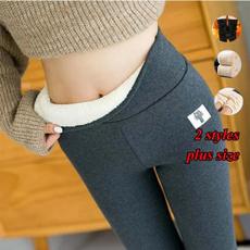 Women Pants, Fleece, Fashion, velvet