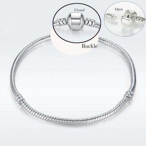 Charm Bracelet, Sterling, Jewelry Accessory, Chain bracelet