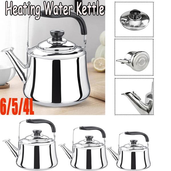 kitchenkettle, Stainless Steel, heatingkettle, largecapacitysoundingkettle
