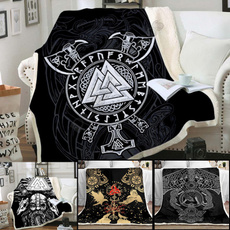 Blankets & Throws, Unique, blanketsforbedsthick, tattoo