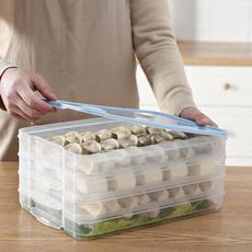Box, dumplingboxe, Frozen, Storage