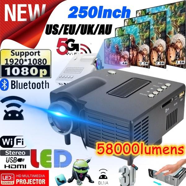 projetor4k, Mini, Video Games, led