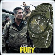 men accessories, quartz, Army, quartz watch