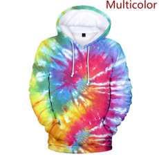 Мода, Tie Dye, Colorful, Pullovers